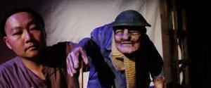 A November Day WW1 puppet