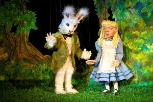 Alice in Wonderland Alice and the White Rabbit
