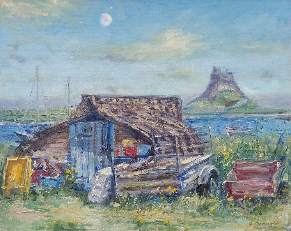 Peter Flanagan - Holy Island, Moon and Planets