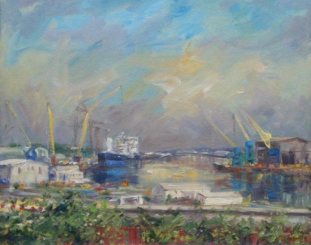 Peter Flanagan - The Last Shipyards, Wallsend