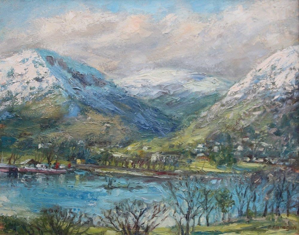 Peter Flanagan - Ullswater, towards Helvellyn