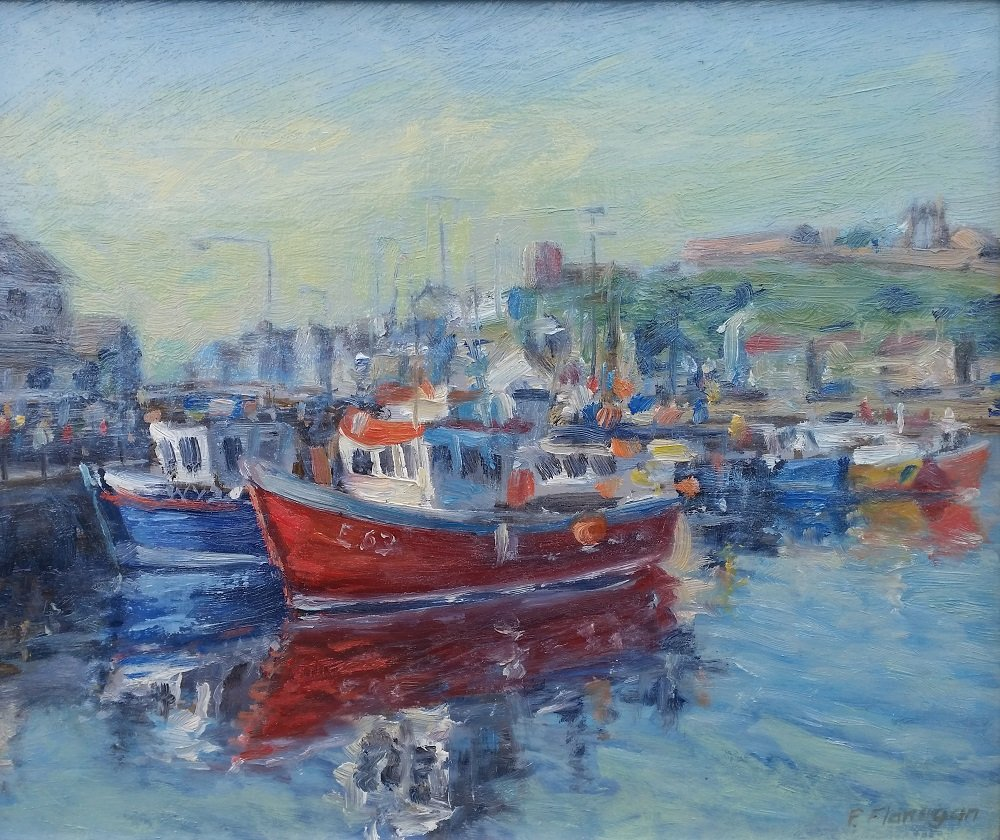 Peter Flanagan - Whitby, Inner Harbour