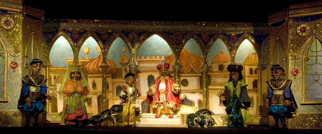 Aladdin's new palace